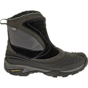 Merrell Snowbound Mid Boots Waterproof Zip Up New